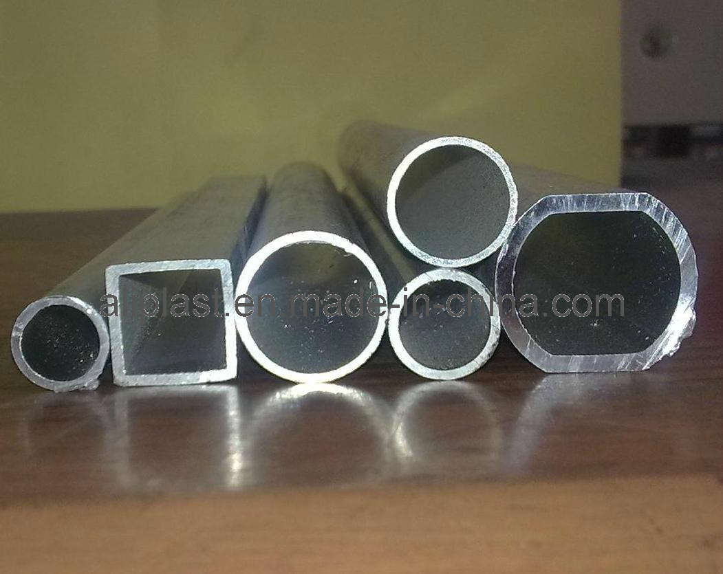 China aluminum tube with different shapes