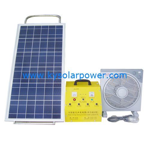 solar powered generator