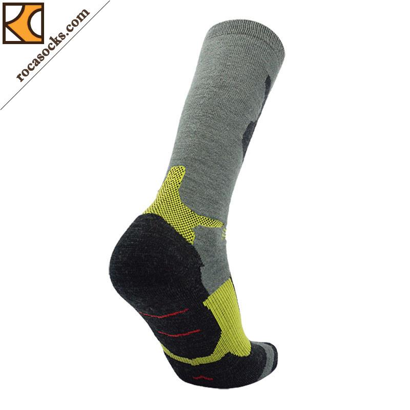 Men′s Warm Ski Merino Wool Socks (161002SK)