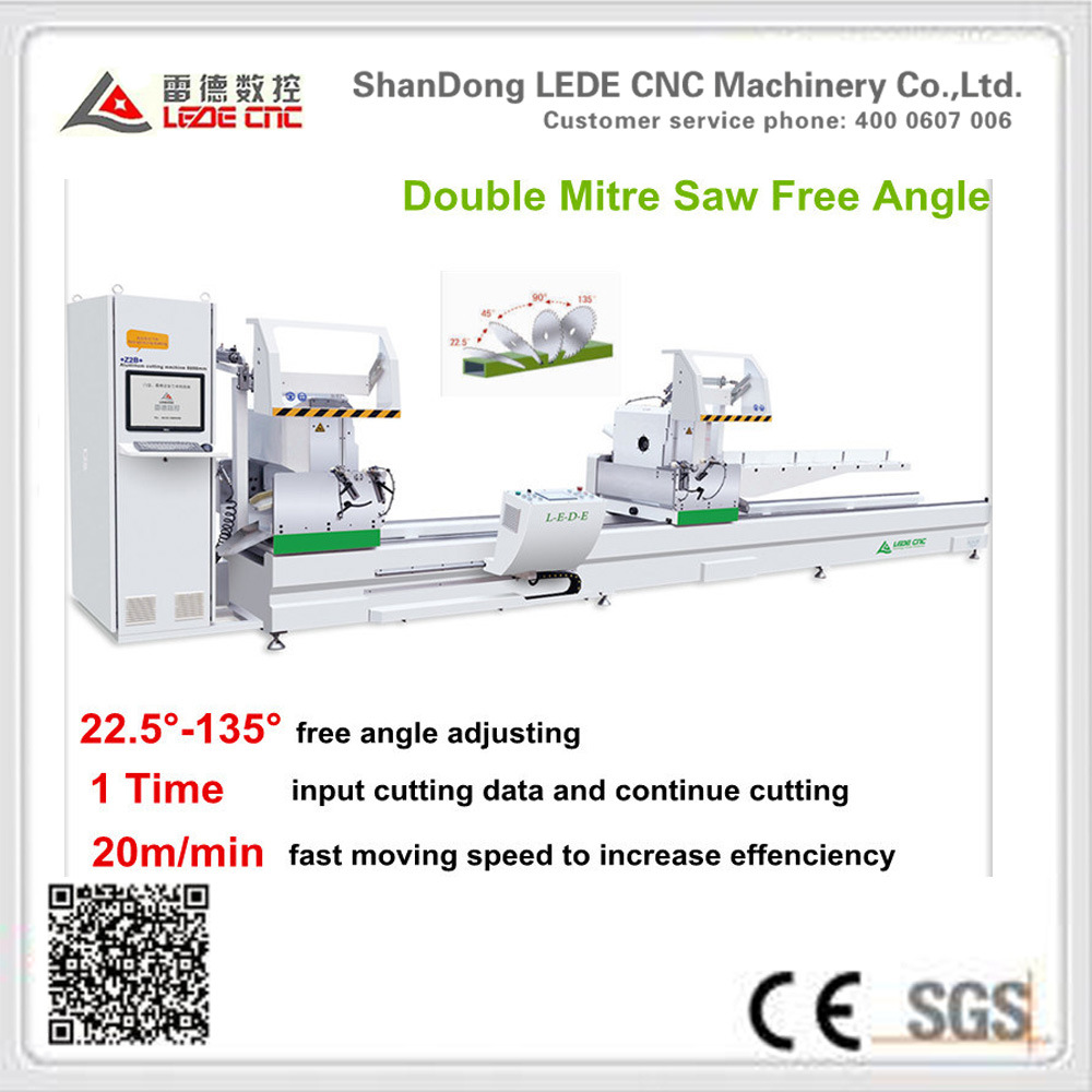 Aluminum Window Machine Window and Door Double Mitre Cutting Saw