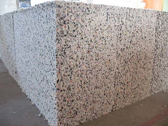China Recycled Foam R001 China Rebond Foam