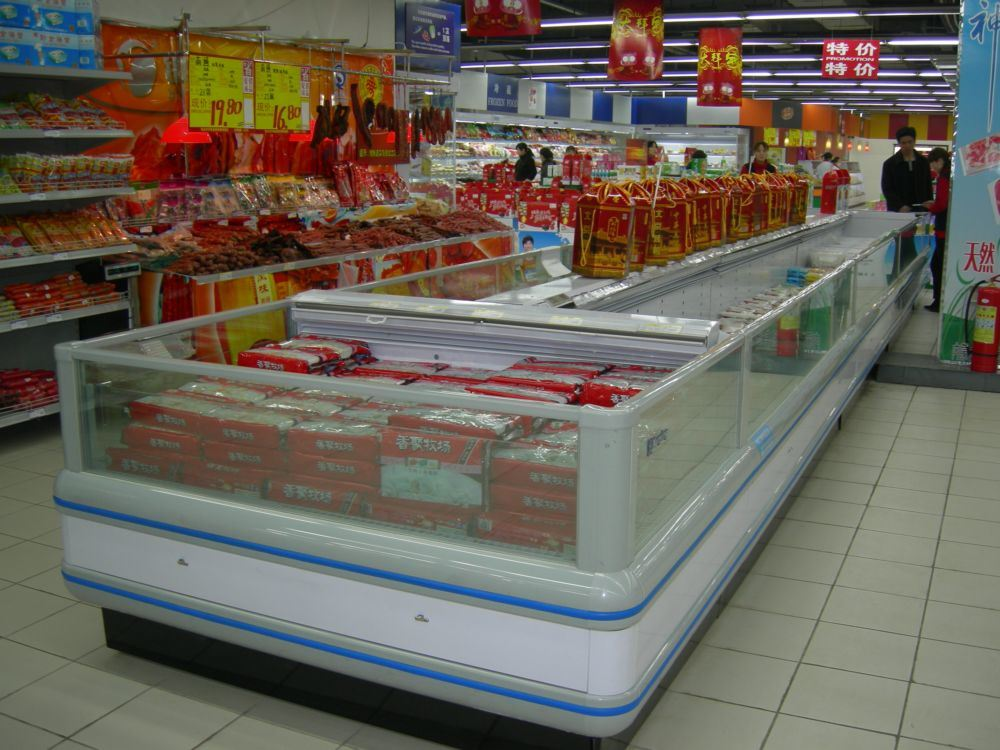Supermarket Luxurious and Durable Island Showcase (DG-20)