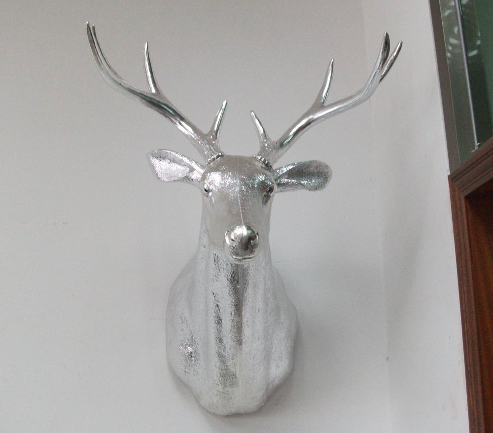 Reindeer head new calendar template site for Animal head wall decoration