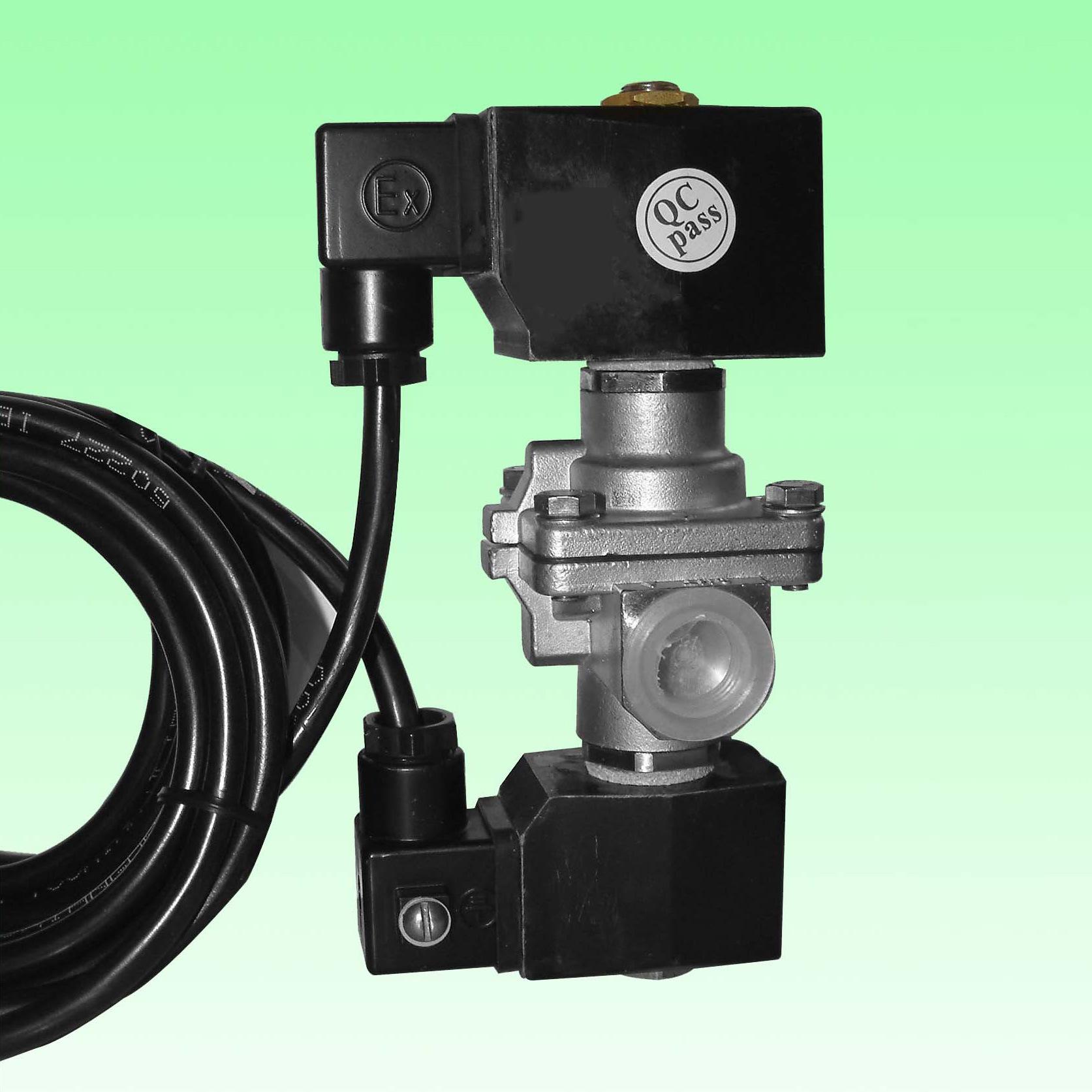 S. S. Double-Coil Solenoid Valves for LPG Dispensers (CF8-E)