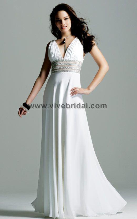 White Evening Dresses
