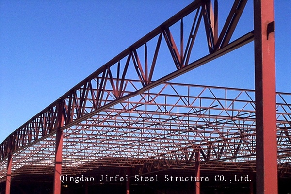 China Prefabricated Steel Truss Structure Building China