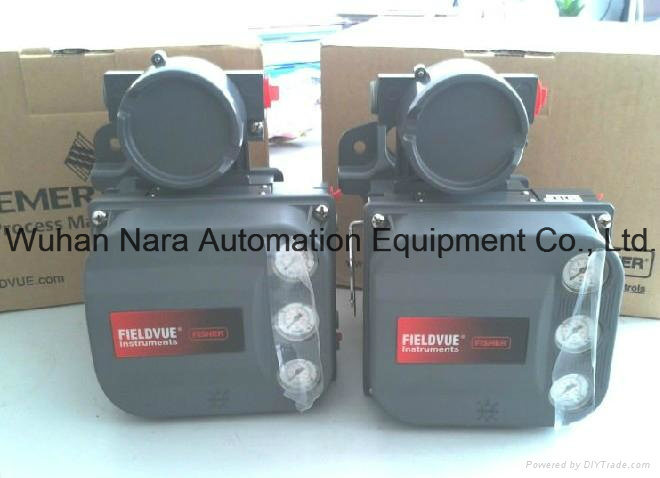 High Pressure 4-20mA Fisher Electric Pneumatic Valve Actuator DVC6200 Fisher Digital Valve Controller DVC6010 DVC6020 DVC6030