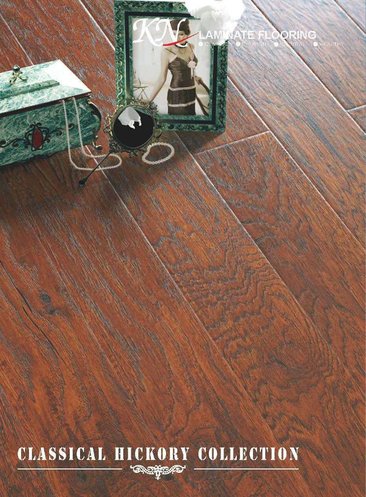 Classical Hickory Collection Laminate Flooring