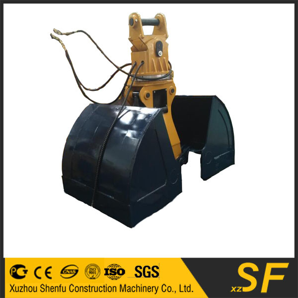 Excavator Attachments of The 20t Clamshell Bucket