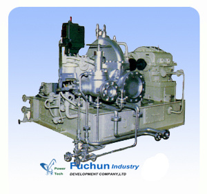 Back Pressure Industrial Steam Turbine