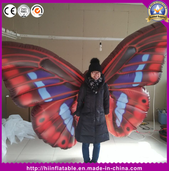 Inflatable Butterfly Wing Stage Inflatable Butterfly Performance Costume for Event Decoration