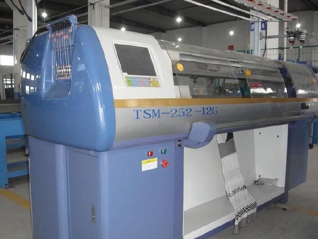 Full Functional Computerized Jacquard Flat Knitting Machine (TSM-252)