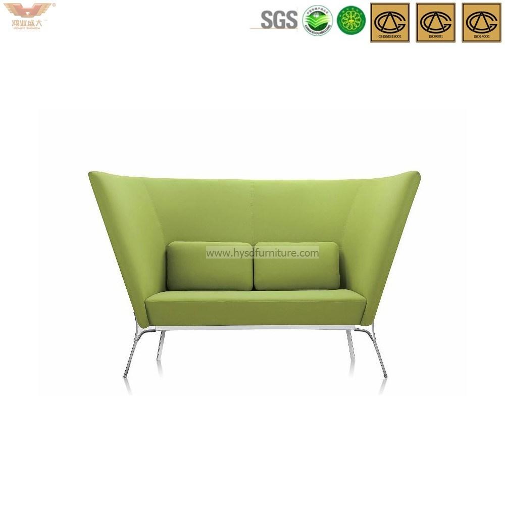 Modern Green Stainless Steel Frame Leisure Sofa-Hls-038