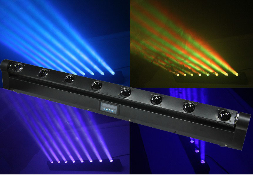 8*10W RGBW4in1 LED Pixel Beam Moving Bar Light / Beam Light