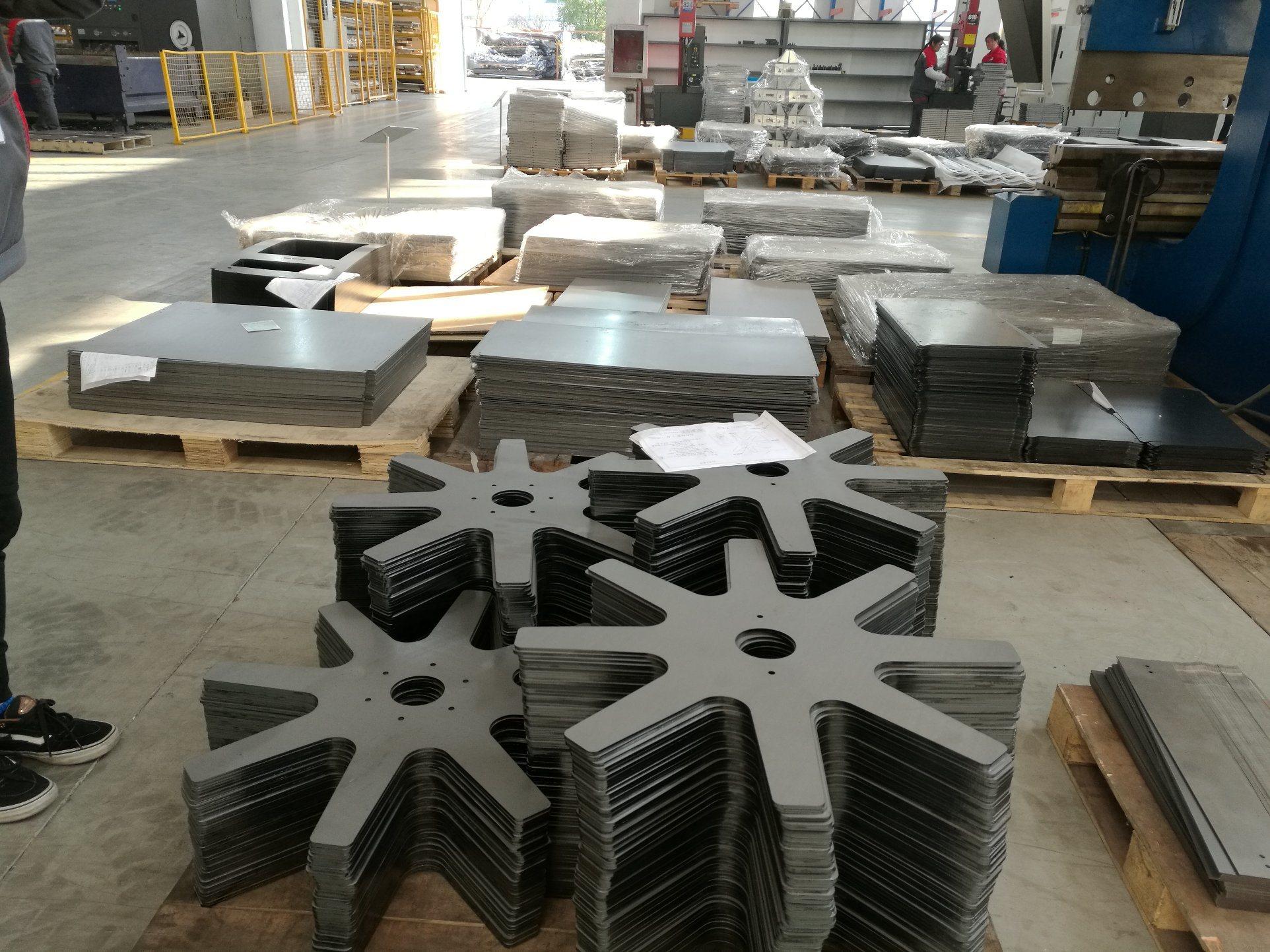 OEM Stamping Galvanized Sheet Metal Bracket Machining Precision Parts Fabrication