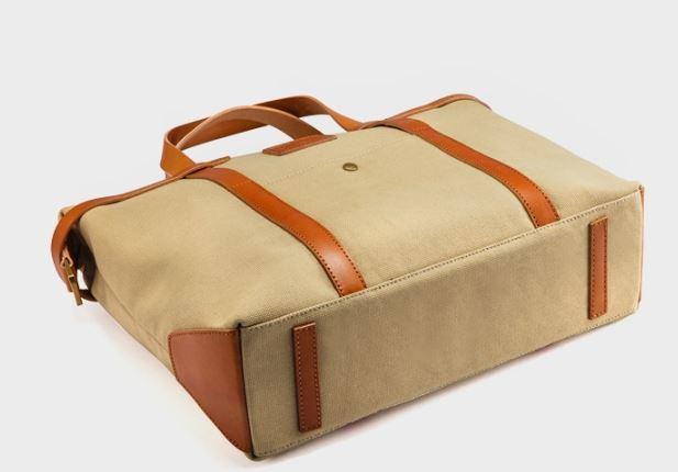 Fashion Big Canvas Travel Weekend Bag (N501)