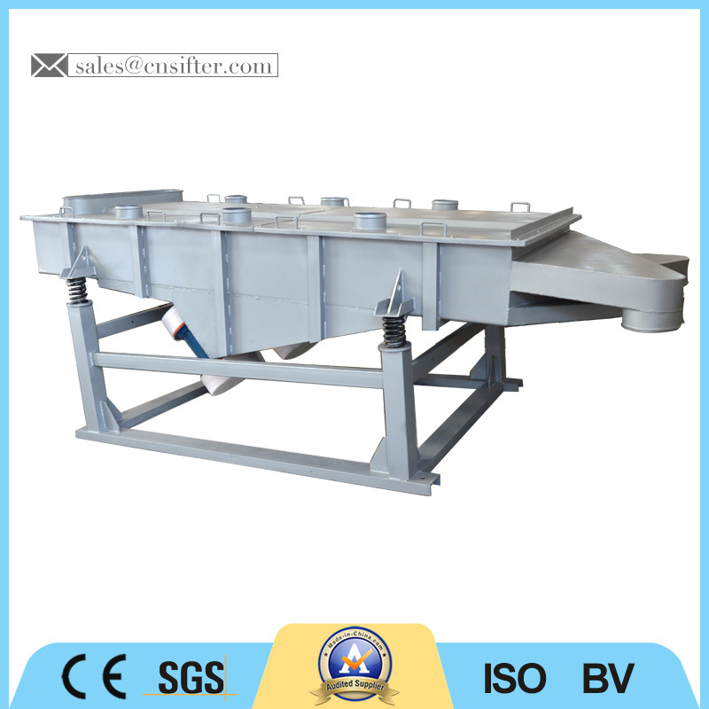 Large Capacity and Efficiency Linear Vibrating Sifter