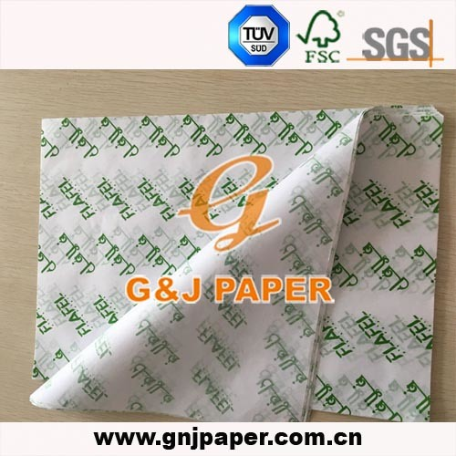 Good Quality Food Grade Printed Wrapping Paper for Food Wrapping