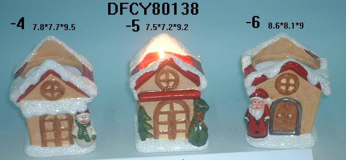 Ceramic Tea Light Candleholder Plate Candle Holder Stand