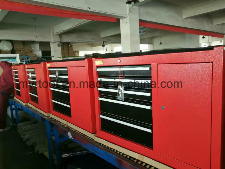 7drawers Comprehensive Hot Selling Empty Trolley with Side Drawers (FY007-3004)