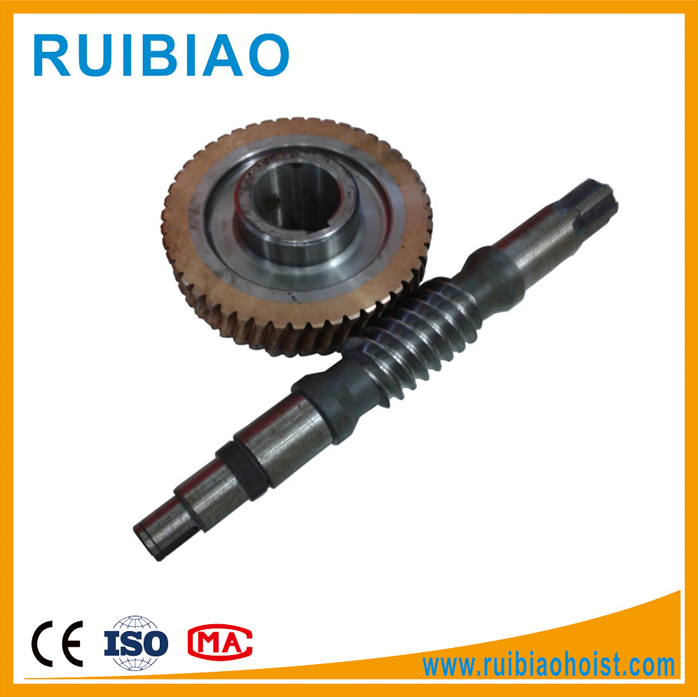 High Quality C45 Material Worm and Worm Gear and Worm