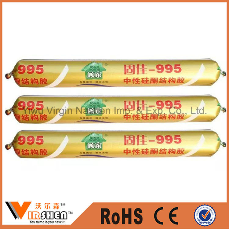China Factory Structural Silicone Sealant Equal to Dow Corning 995