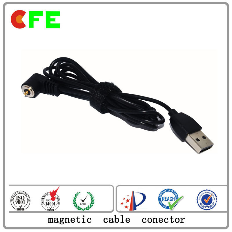 1pin Waterproof Magnet Cable Connector for Electronic