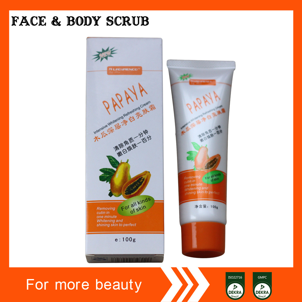 Face and Body Cleansing Gel Scrub