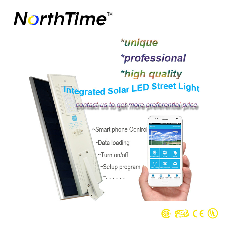 Automatic Light Control LED Solar Light 120W with Smart Control System