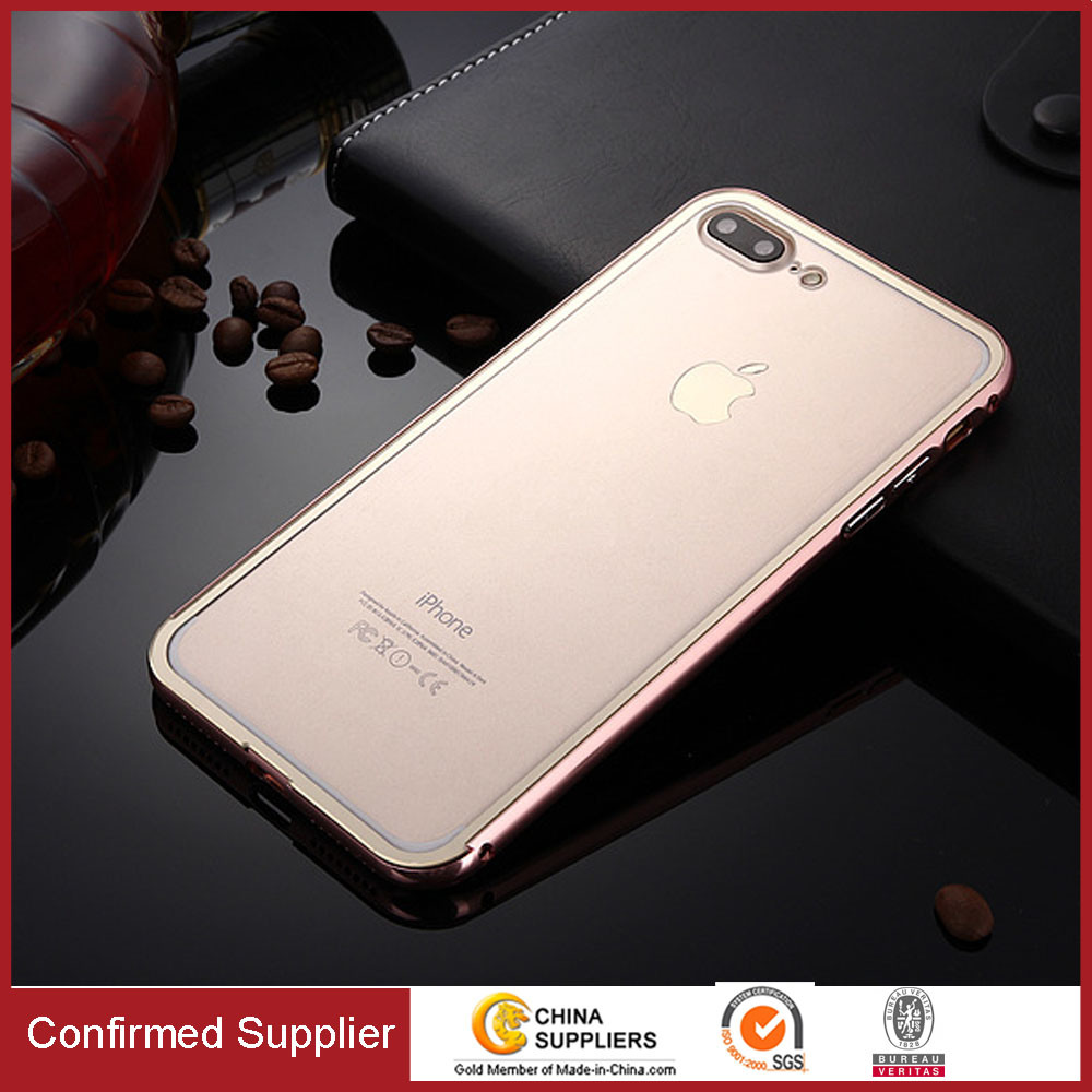 Shockproof Ultrathin Aluminum Metal Bumper Frame Cell Phone Case for iPhone