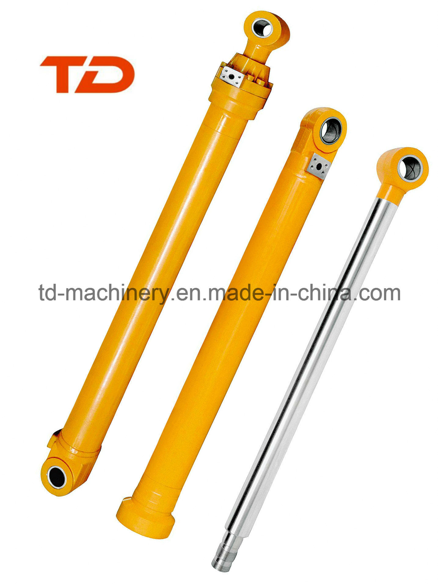 Excavator Cylinder for Construct Boom Arm and Bucket Cylinder for Excavator or Bulldozer Machinery Cylinder