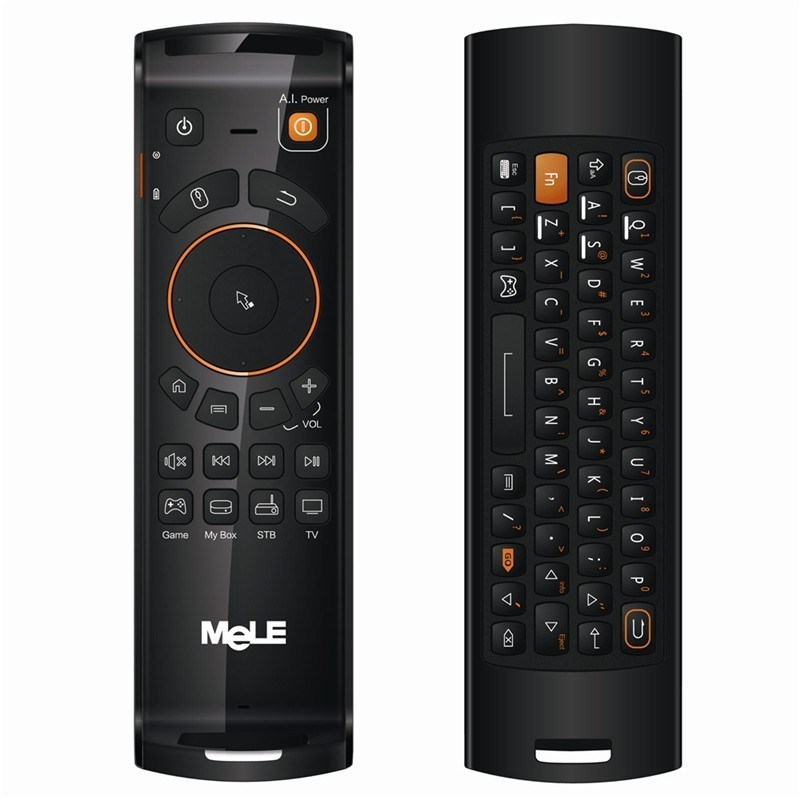 Melo F10 Wireless Air Mouse for Android TV Box with Qwert Keyboard
