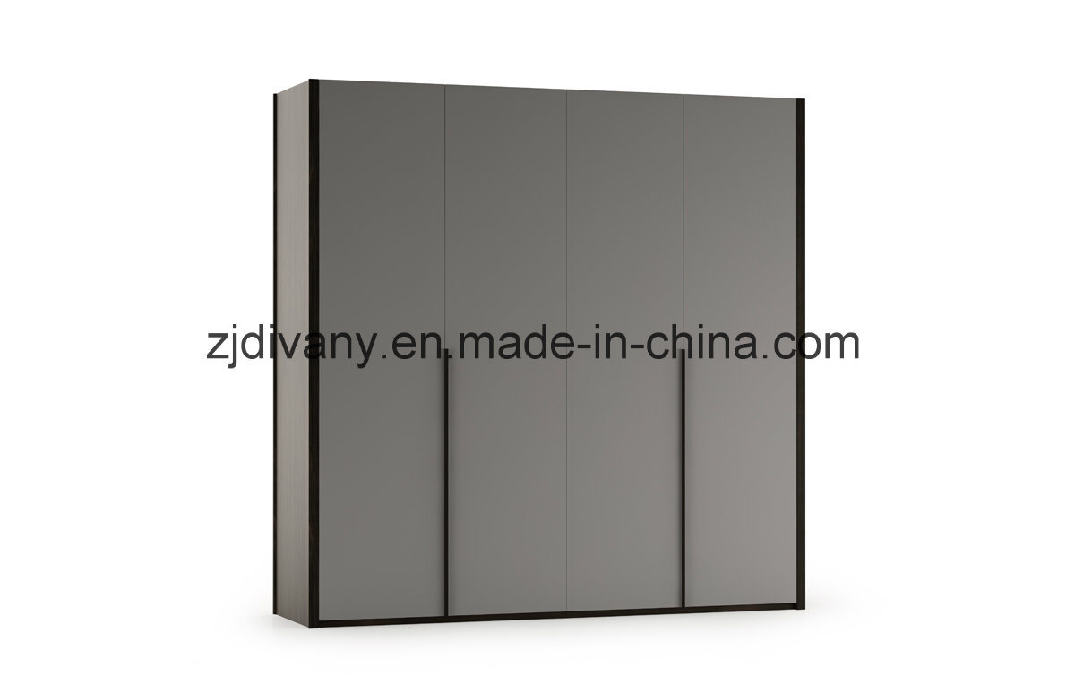 Home Furniture Bedroom Large Cabinet Wooden Wardrobe (SM-W19)