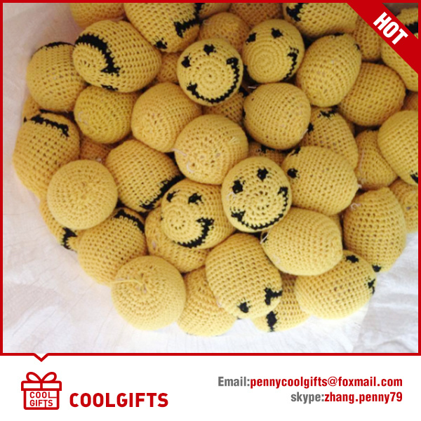 High Quality Hand Made Cotton Knitted Woven Hacky Sack Kickball, Juggling Ball