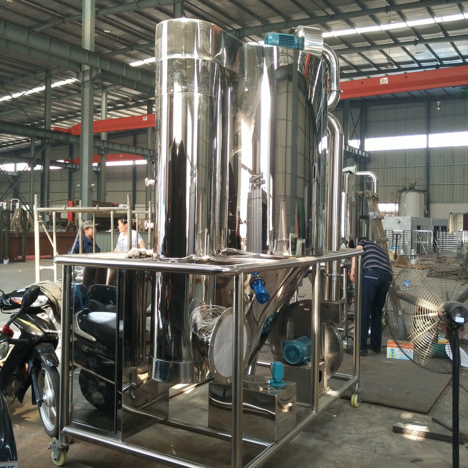 Spray Dryer for Chemical, Food and Pharmaceutical