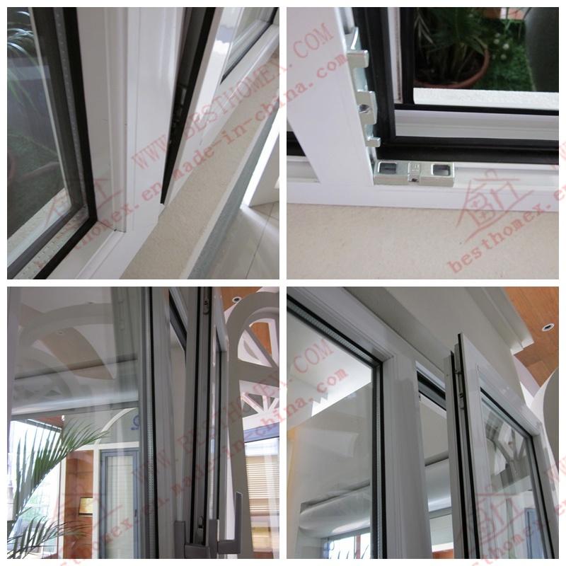 Power Coating Aluminum Tilt and Turn Window (BHA-TT01)