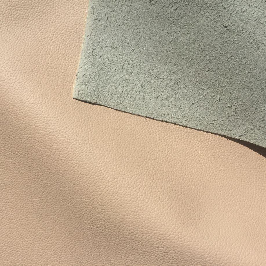 Genuine Leather Handfeeling Microfiber Leather for Furniture Hx-F1713