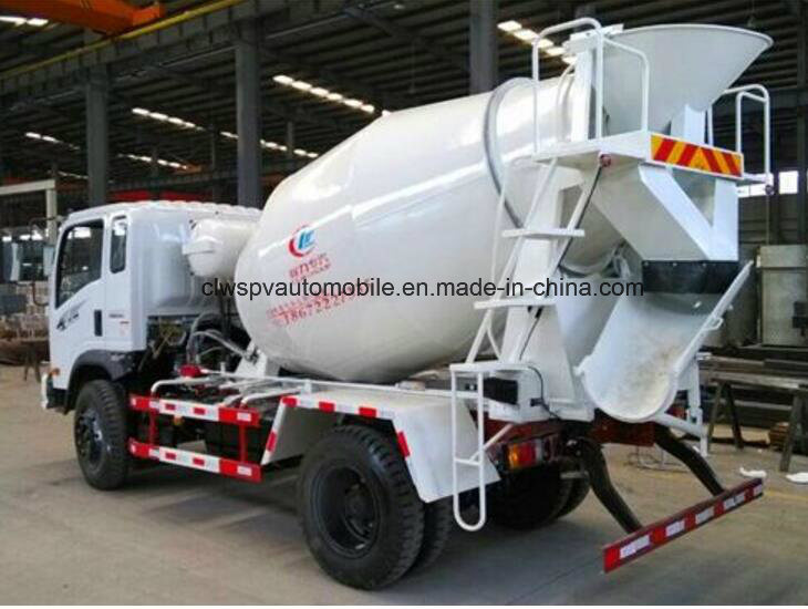 5 Cubic Meters Concrete Mixer Truck Price
