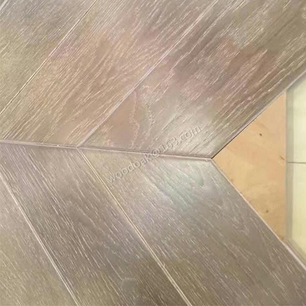 Herringbone Hardwood Flooring/Fishbone Oak Wood Parquet/Oak Parquet Flooring