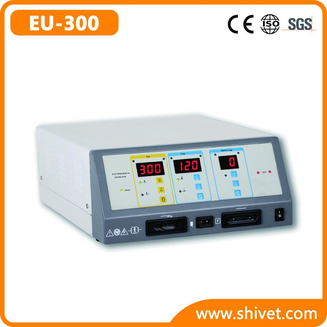Veterinary Five Output Modes Electrosurgical Unit (EU-300)