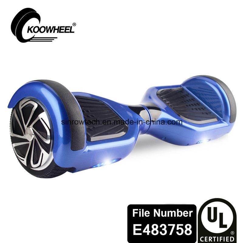 UL2272 Certificate Koowheel 6.5 Inch Smart Balance Scooter Blue