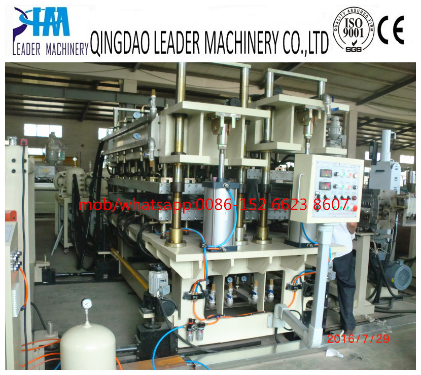 Polycarbonate PC Hollow Grid Sheet/Plate/Board Roofing Sunshine Panel Extrusion Line