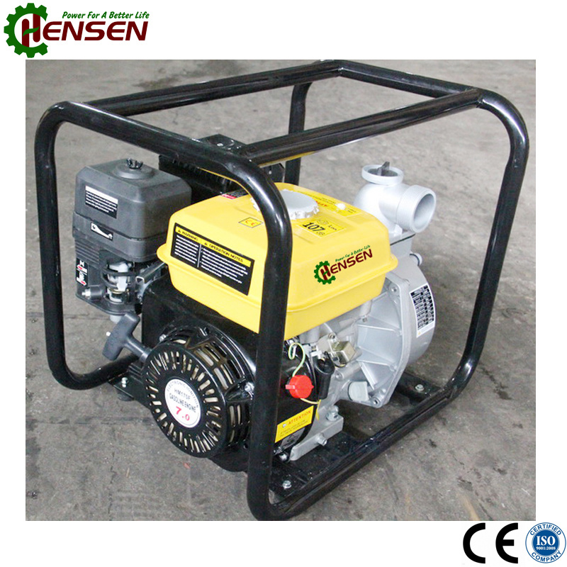 Powered by 6.5HP Gasoline Engine 2 Inch Gasoline Water Pump