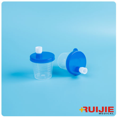 Disposable Plastic 30ml Urine Cup Container with Mouth