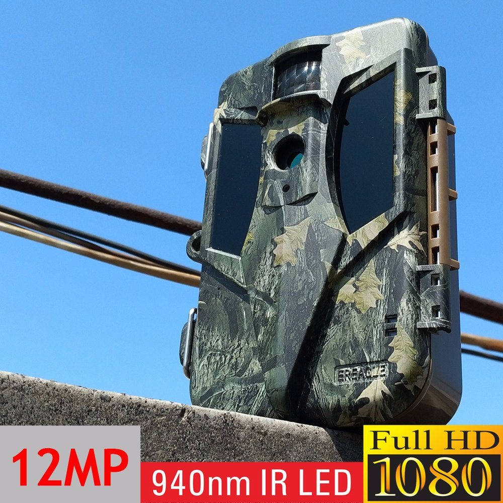 Full HD 1080P IP68 Waterproof IP Hiddentrail Hunting Camera with 12MP Coms Sensor