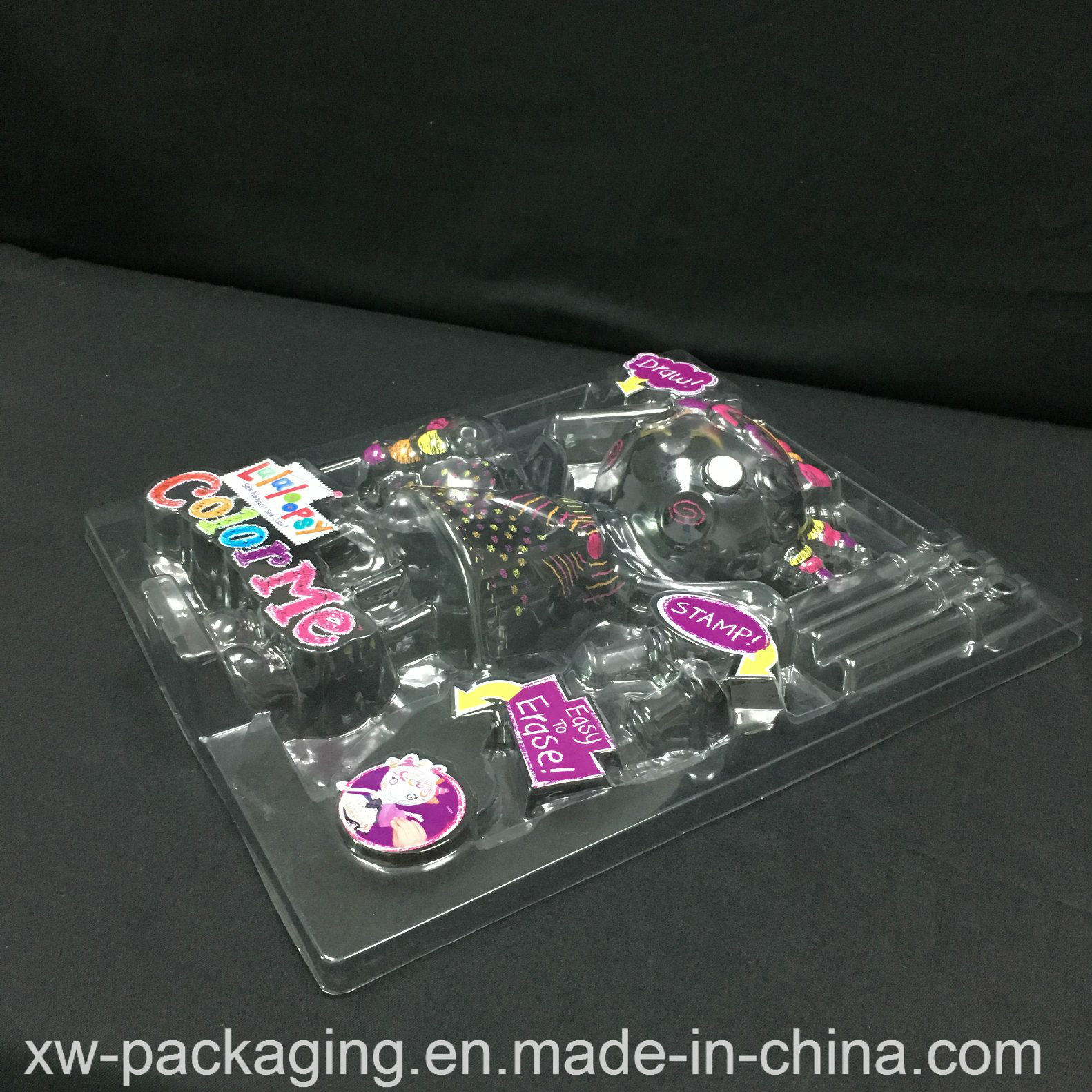High Quality PP/PVC Blister Tray for Cartoon Plastic Packaging