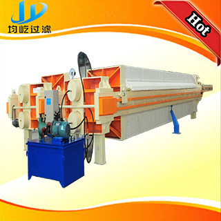 Hydraulic Chamber Filter Press for Ceramic Sludge Treatmen