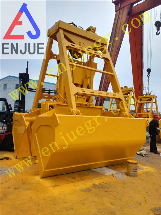 25t 6 10 Cbm Chinese Wireless Remote Controlled Grab Bucket in Stock