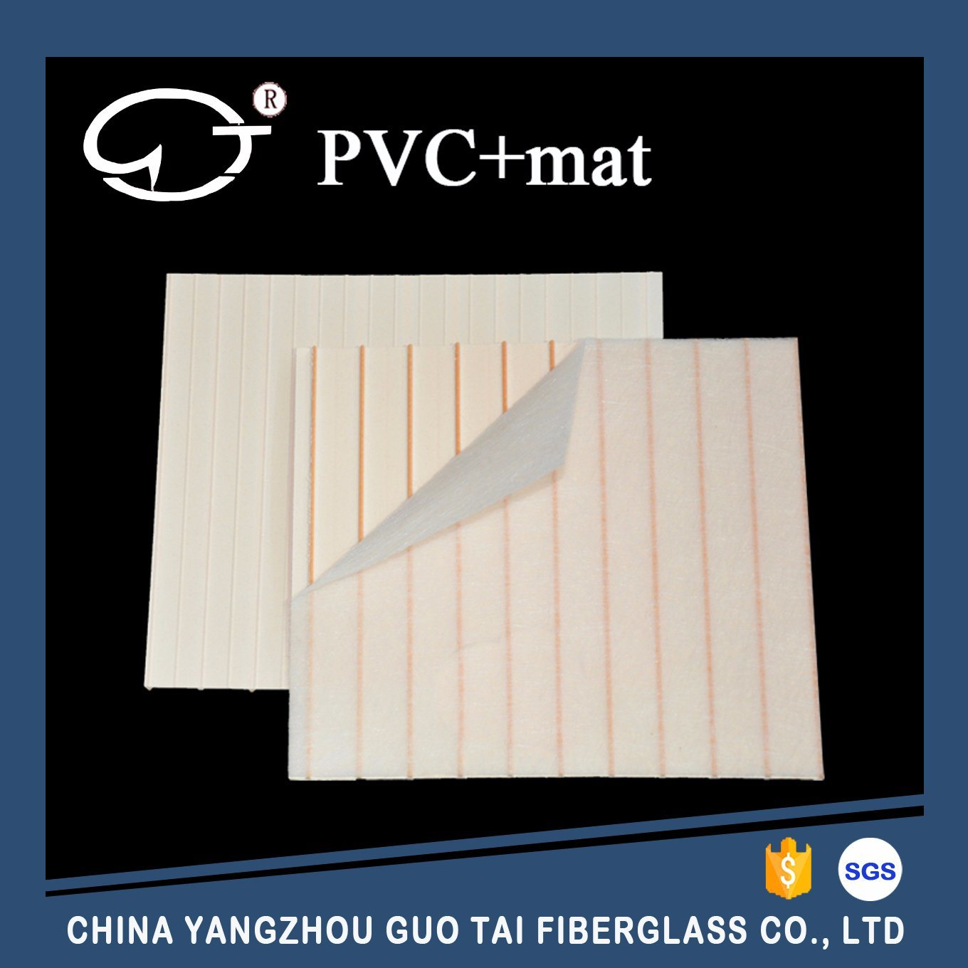 PVC Battery Separator with Glass Mat for Storage Battery