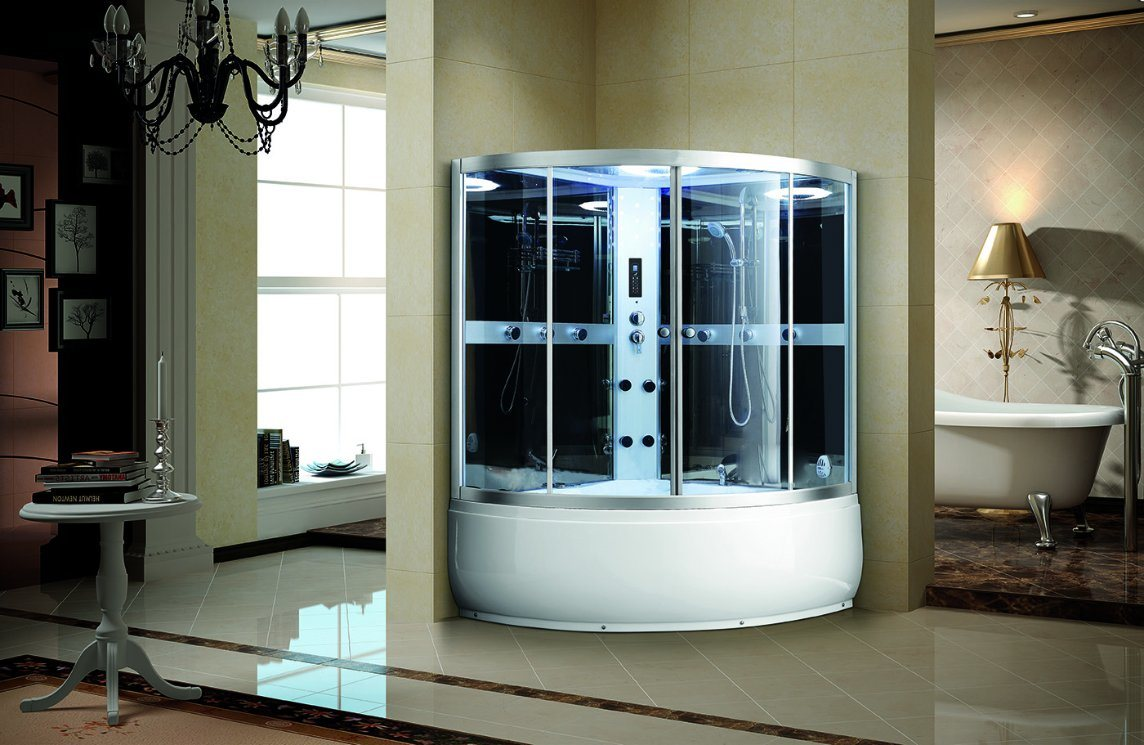 (K9717) Complete Sauna Steam Shower Room
